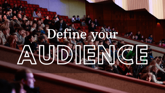Building a successful webinar strategy - Define your audience