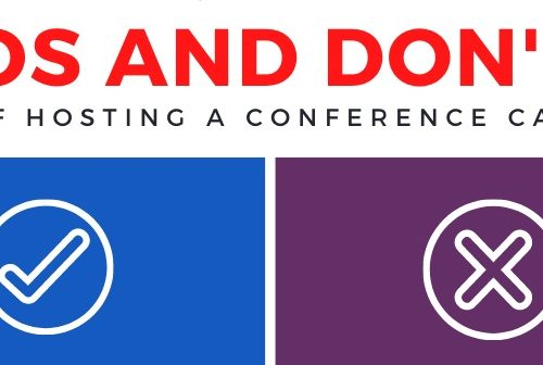 Dos and Don'ts of Hosting a Conference Call