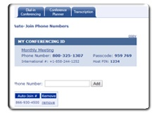 Auto-Join - Just dial: