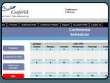 Browser-Based Conference Planner