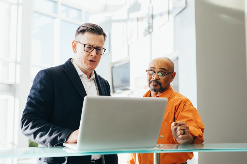 man learning the common webinar mistakes to avoid