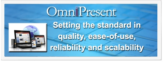 OmniPresent | Setting the standard in quality, ease-of-use, reliability and scalability